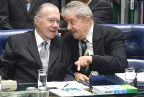 Lula elogia Sarney e diz que imprensa avacalha a política
