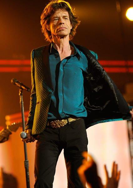 Mick Jagger  - Com magreza e feições exageradas, esse muso possui uma sensualidade que quase chega a ser pornográfica.