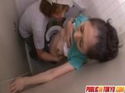 トイレでレイプされる長谷川美紅のおばさん動画無料