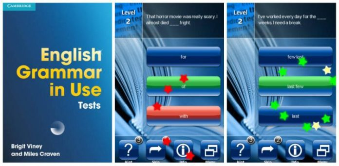 English Grammar in Use app