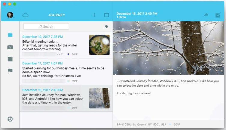 Journey App screenshot
