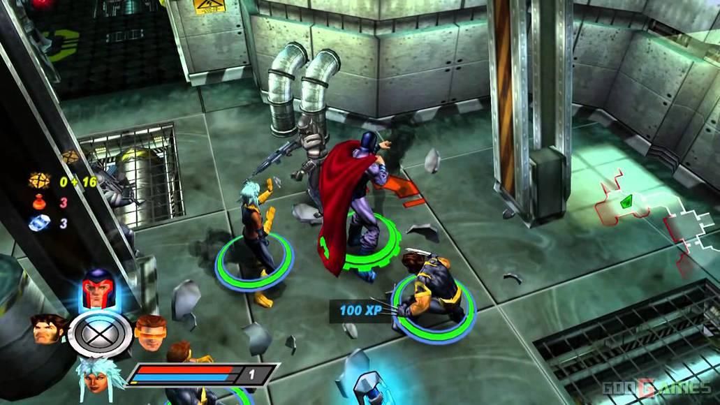 Rise of Apocalypse (X-Men Legend II) game