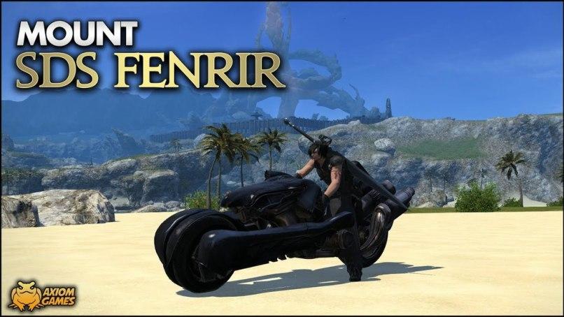 Final Fantasy XIV - SDS Fenrir (Mount) - YouTube