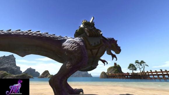 FFXIV: Tyrannosaur Mount - YouTube