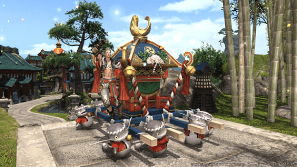 FFXIV Patch 4_3 Namazu Mount Gaming Cypher - Gaming Cypher