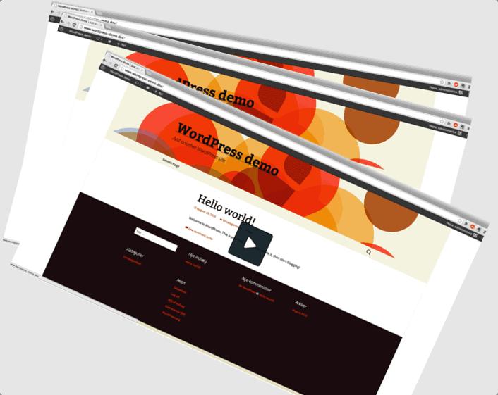 Bedre Web - WordPress Video Vejledninger