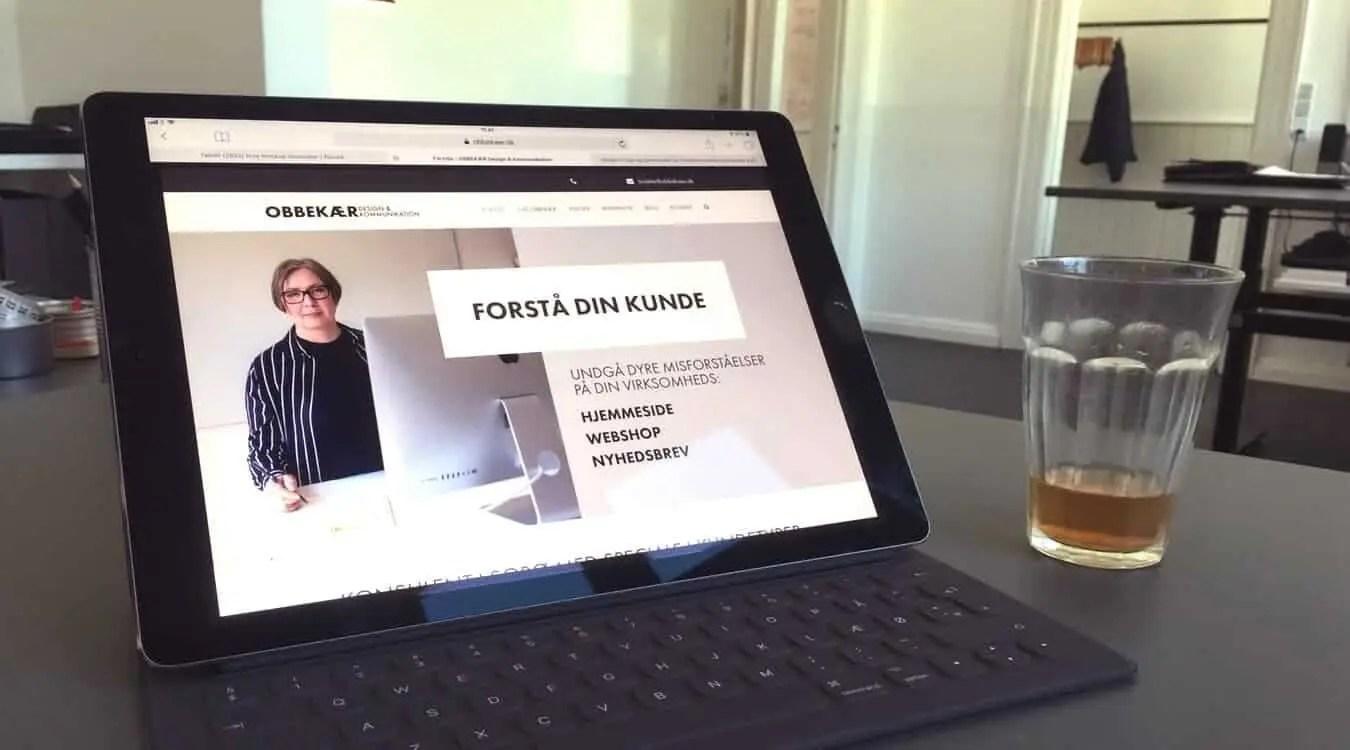 OBBEKÆR Design & Kommunikation: Hvornår Skal Du Have En Ny Hjemmeside