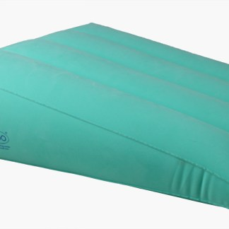 ObboMed Inflatable Bed WedgePillow with Velour Cover