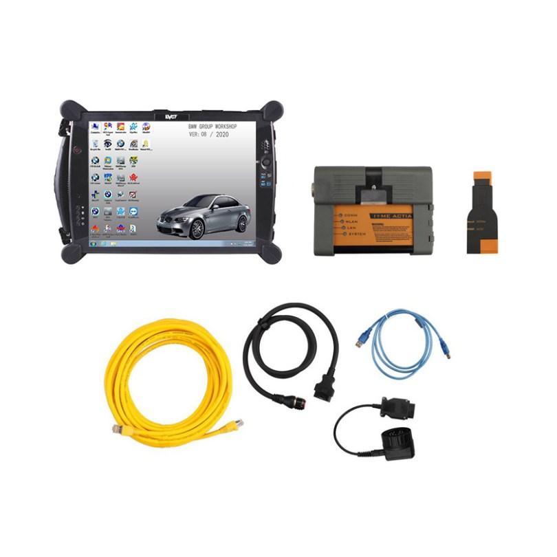 [SET] ICOM for BMW A2+B+C v2020.11 + EVG7 DL46 Diagnostic Tablet PC