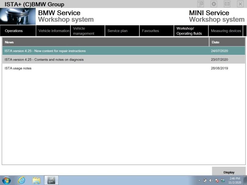 Software SSD for ICOM BMW v2020.11