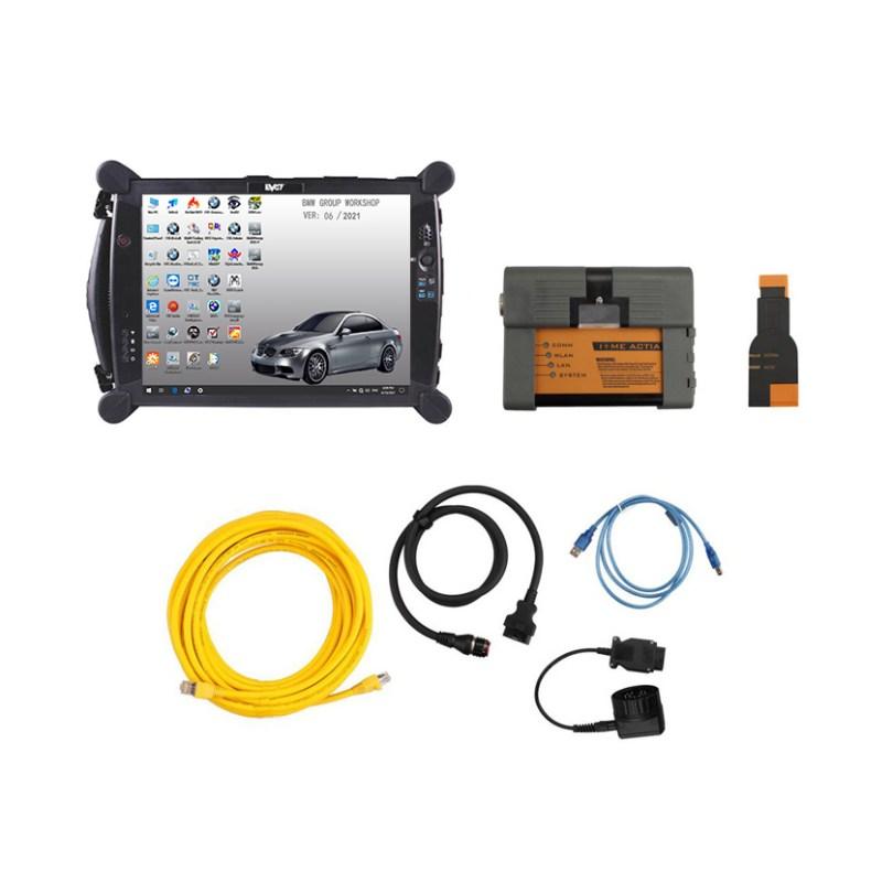 [SET] ICOM for BMW A2+B+C v2021.6 + EVG7 DL46 Diagnostic Tablet PC