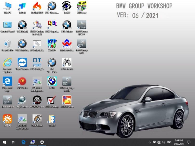 ICOM BMW A3+B+C Set Software v2021.6