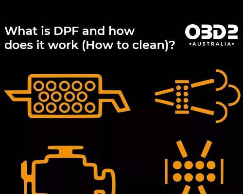obd2 post What is DPF and how does it work How to clean