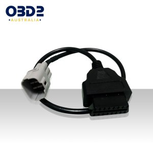 suzuki motorcycle diagnostic tool obd2 to 6 pin adapter cable a