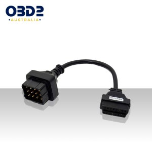 renault 12 pin to 16 pin obd adapter a