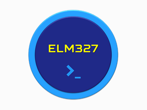elm327 terminal command icon