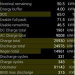 ScanMyTesla Battery