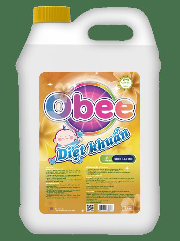 Nước giặt Obee Baby Diệt khuẩn 9.8kg