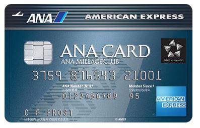 anaamexカード