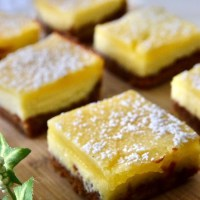 Lemon Cream Cheese Bar