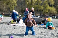 """""""I can walk on sand. I can do this. I know I can."""""""