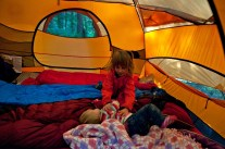 TENT TIME!