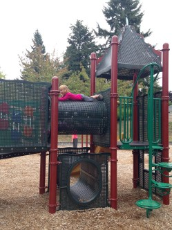 Plenty of time at the play ground