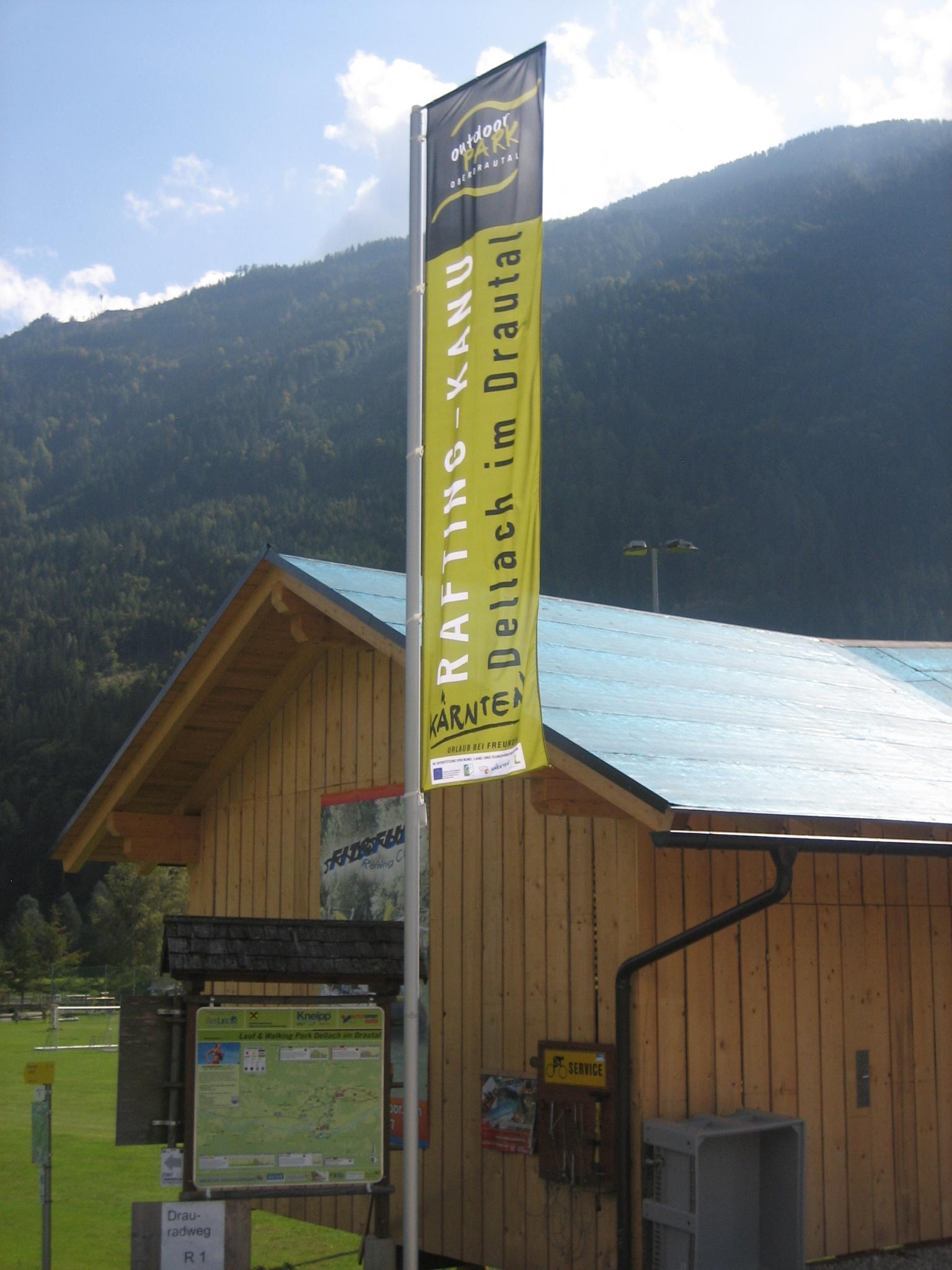 Kanucamp in Dellach