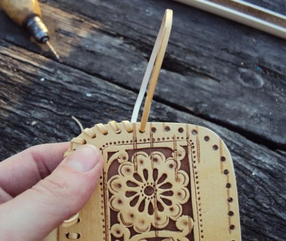 как сделать шкатулку с резьбой из бересты своими руками