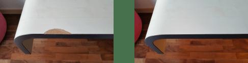 Tisch HPL reparieren