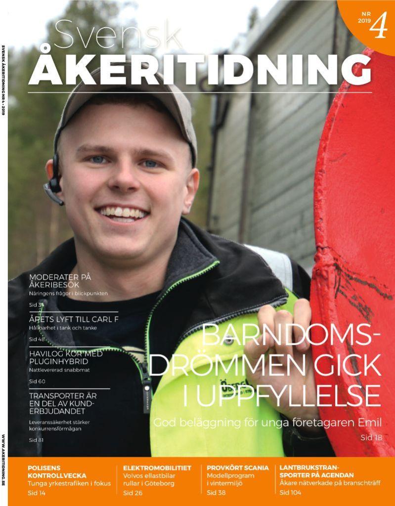 Svensk Åkeritidning | Drömmen om eget gick i uppfyllelse för Emil Öberg. Nr 4 2019