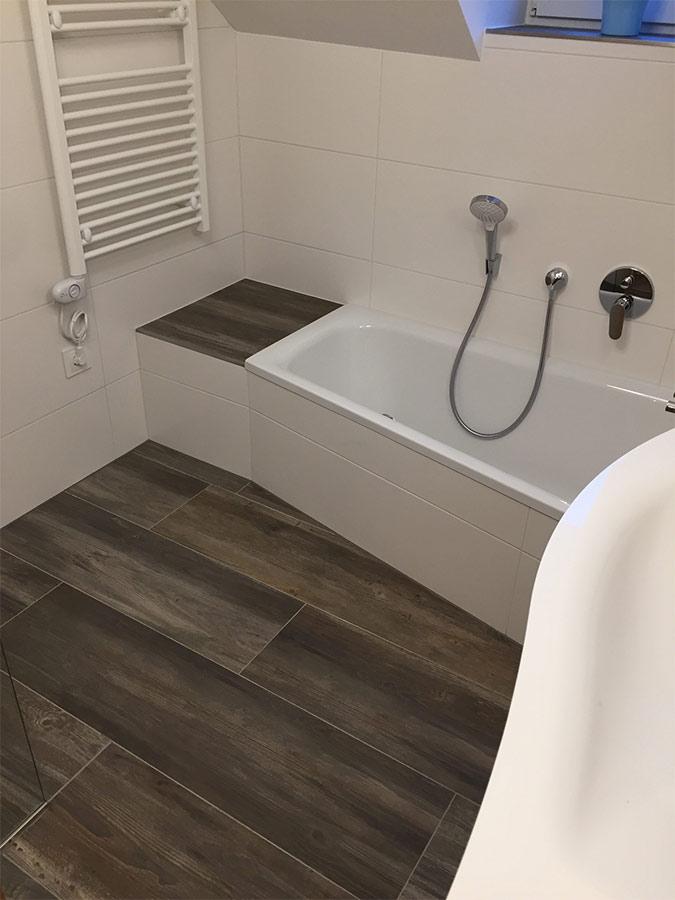 Perfektes Bad unterm Dach