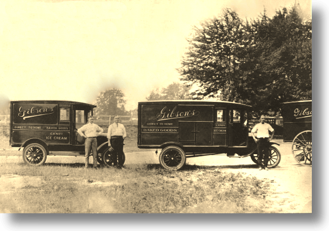 Early Gibson's Bakery (Oberlin) Delivery Trucks