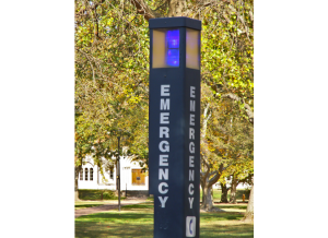Oberlin College Campus Security Alert Phone.
