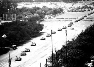 Tiananmen tank convoy