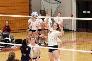 Volleyball Team Takes on Important Wins