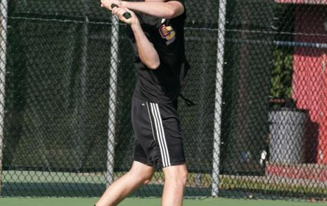 Men's Tennis Challenges Nationally Ranked Teams
