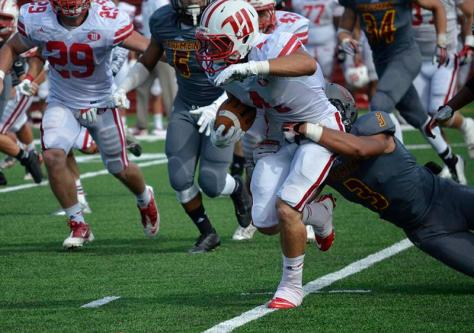 Defense Struggles, Football Falls to Wittenberg Tigers