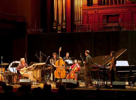 New Music Ensemble 'Adds Echoes' to Finney Chapel
