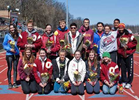 Feature Photo: Track and Field Seniors