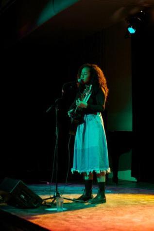 Folk Musician Sings of Childhood, Self-Love