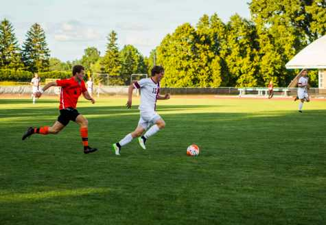 Men's Soccer Splits Opening Games