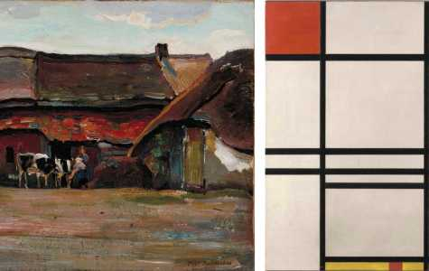 Framing the Allen: Abstraction Shows Artist Evolution