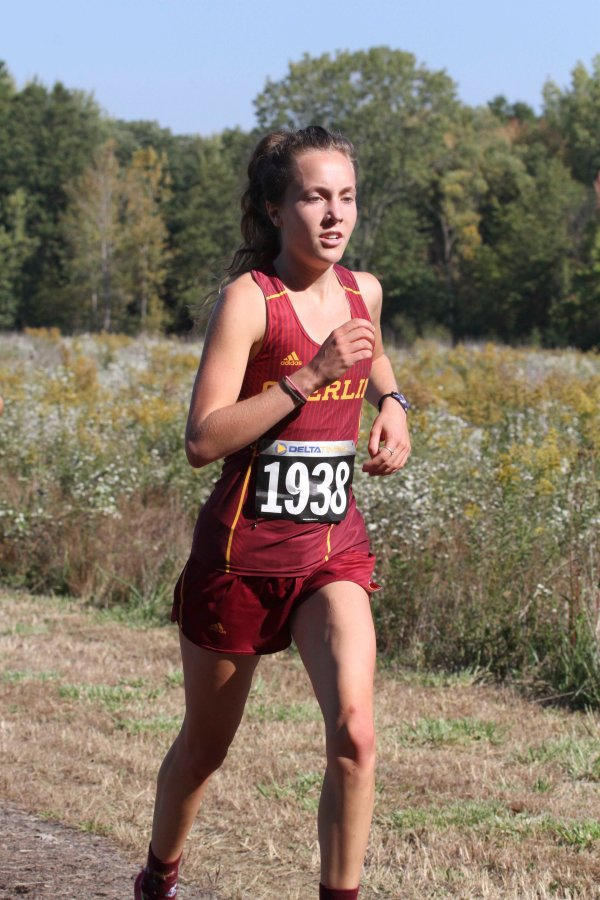 Sophomore+Linnea+Halsten+races+at+the+Great+Lakes+Regional+Championships%2C+where+she+recorded+a+21+minute%2C+27.2+second+finish+in+the+6k+last+Saturday.+Her+ninth-place+finish+earned+her+a+spot+at+the+NCAA+Cross+Country+Championships+in+Louisville%2C+KY%2C+tomorrow.