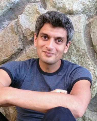 On the Record with Kazim Ali, Associate Professor