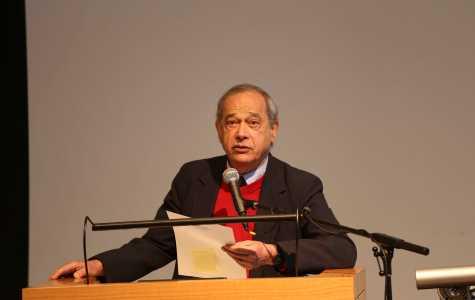 Feature Photo: Alvin Rosenfeld Warns of Modern Anti-Semitism in Talk