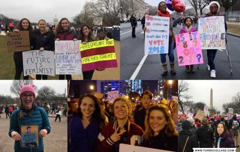 Women's March Draw Current Athletes, Alumni