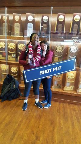 In The Locker Room with Women's Track and Field