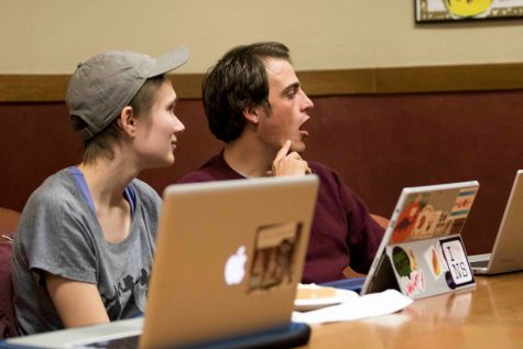 Student Senate Selects Task-Force Representatives