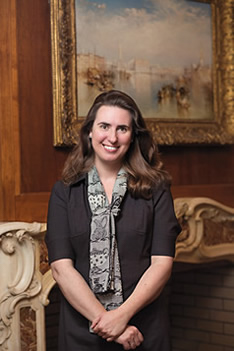 Andria Derstine, the Allen Memorial Art Museum's John G. W. Coles director, is celebrating the 100th anniversary of the museum's completion with a variety of special exhibitions and programs.